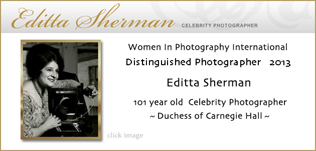 Editta Sherman Dutches of Carnegie Hall photographer